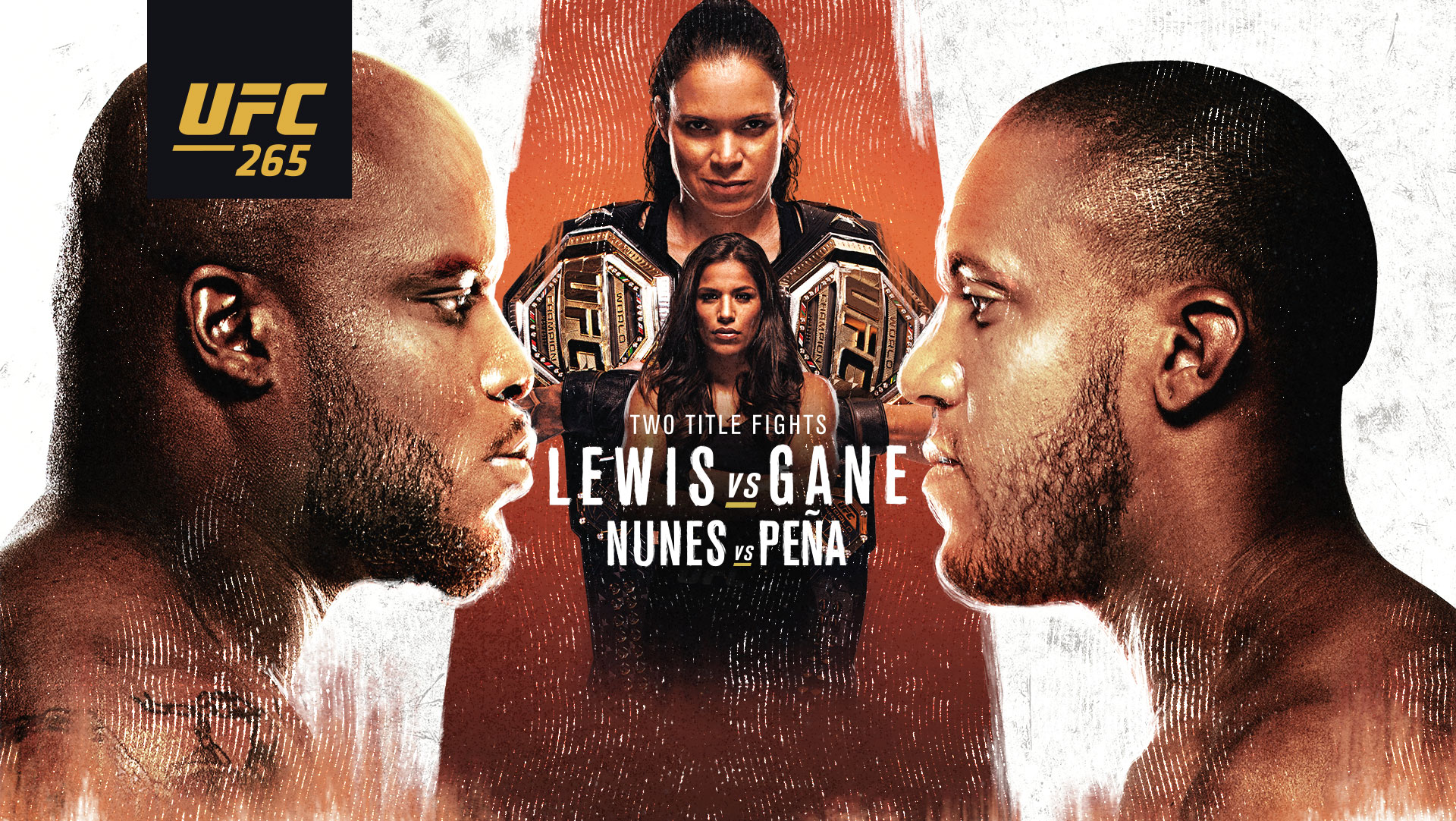LEWIS VS GANE, UFC 265